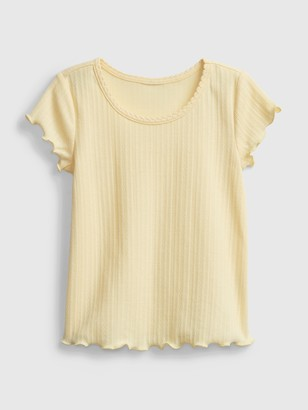 Gap Toddler Scalloped T-Shirt
