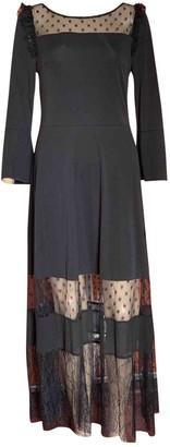 Blumarine Black Lace Dress for Women