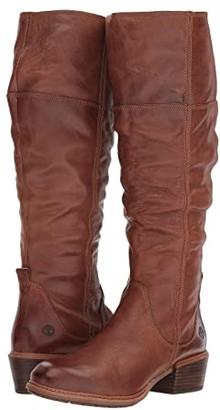Timberland Sutherlin Bay Tall Boot (Medium Brown Full Grain) Women's Zip Boots