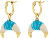 Aurelie Bidermann Takayama Bakelite & gold-plated earrings