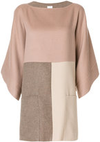 Agnona oversized pocket poncho - women - Cashmere - M