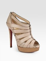 Pique Platform Sandals
