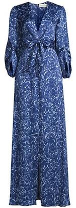 Sachin + Babi Sherri Tie-Waist Gown