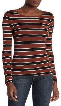 Elodie K Striped Pullover Sweater