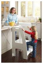 Guidecraft Step-Up Kitchen Helper - White