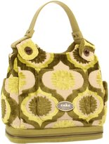 Petunia Pickle Bottom Society Ssck-00-285 Messenger Bag,Key Lime Cream Cake,O...