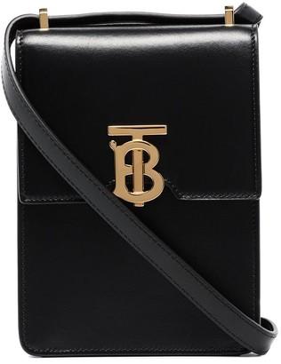 Burberry Valencia leather crossbody bag