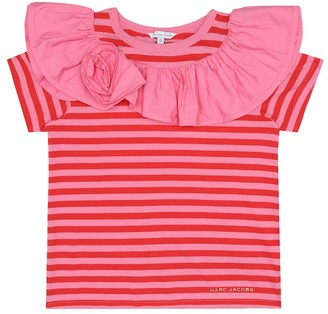 Little Marc Jacobs Striped cotton T-shirt