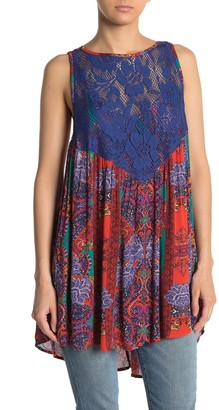 Free People Count Me In Trapeze Mini Dress
