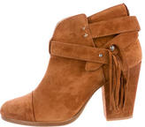 Rag & Bone Harrow Fringe Ankle Boots
