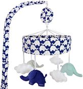 Just Born Mix & Match Classic Collection Musical Mobile in Navy/White