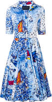 Samantha Sung Sailboat print dress