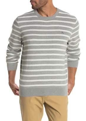 Original Penguin Breton Stripe Crew Neck Sweater
