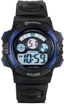 Lancardo 30M Waterproof Kid'S Boys Multi-Function Digital Traning Sports Watch( White)