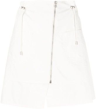 Mr & Mrs Italy Zipped Mini Skirt