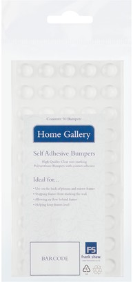Home Gallery Adhesive Bumpers, Pack of 50