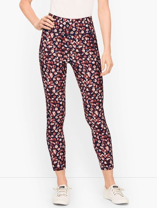 Talbots On the Move Floral Leggings