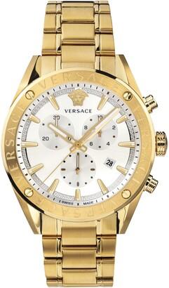 Versace Chrono Bracelet Watch, 44mm