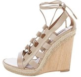 Aquazzura Amazon Wedge Sandals