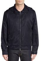 Saks Fifth Avenue Hooded Bomber Jacket