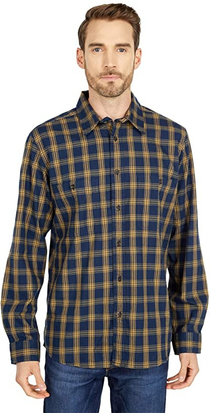 Filson Wildwood Shirt Black Gold White