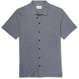 Oliver Spencer Slim-Fit Jacquard-Knit Cotton Shirt