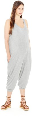 Egg Maternity by Susan Lazar Women's Jersey Jumper Grey Petit