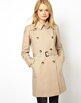 Asos Premium Trench With Panel Detail - Beige
