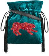 Les Petits Joueurs Trilly leopard shoulder bag
