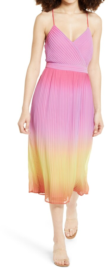 Leith Ombre Print Dress
