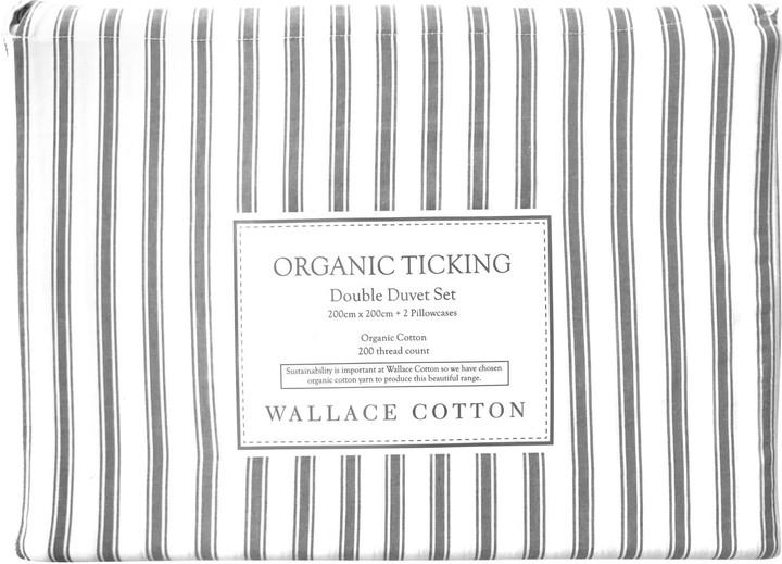 Ticking Stripe Duvet Cover The, Black Ticking Stripe Bedding