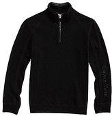 Calvin Klein Long-Sleeve Quarter-Zip Sweater