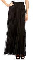 Emma Street Long Pleated Skirt