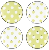 Kate Spade Wickford Orchard Set of 4 Tidbit Plates