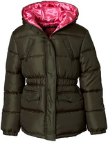 Pink Platinum Forest & Pink Hooded Puffer Coat - Infant, Toddler & Girls