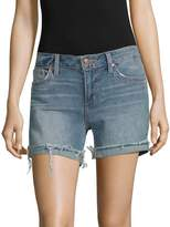 Joe's Jeans Women's Raw-Edge Denim Shorts - Blue, Size 28 (4-6)