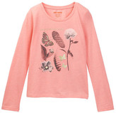 Joe Fresh Long Sleeve Tee (Little Girls & Big Girls)
