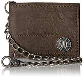 Dickies Men's Bifold Wallet with Chain