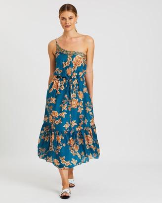 Jets Enchantment One-Shoulder Dress