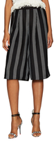 Lucca Couture Striped Pull On Culottes