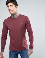 Men Burgundy Fitted Long Sleeve Shirts - ShopStyle