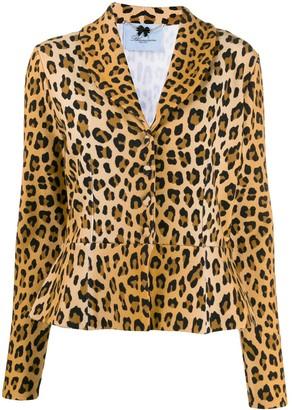 Blumarine leopard-print jacket