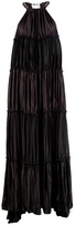Lanvin Tiered pleated dress