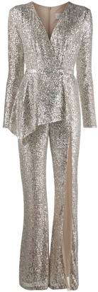 Loulou Sequin Embroidered Jumpsuit