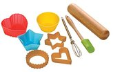 Premier Housewares Children's Baking Set, 9-Pieces