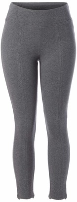 Skinnygirl Women's Misses Culture Stylish Back Slit Seamed Ankle Legging