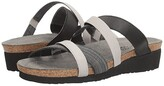 Naot Footwear Roxana (Black Fabric/Gloss Black Stretch/Light Gray Stretch) Women's Shoes