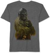 JEM Men's Big & Tall Star Wars Chewbacca Ombré Graphic-Print T-Shirt from