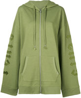 Puma harness zipped hoodie - women - Cotton/Polyester/Spandex/Elastane - XS