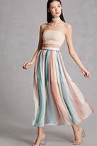 Forever 21 Blush Noir Tie-Dye Maxi Skirt